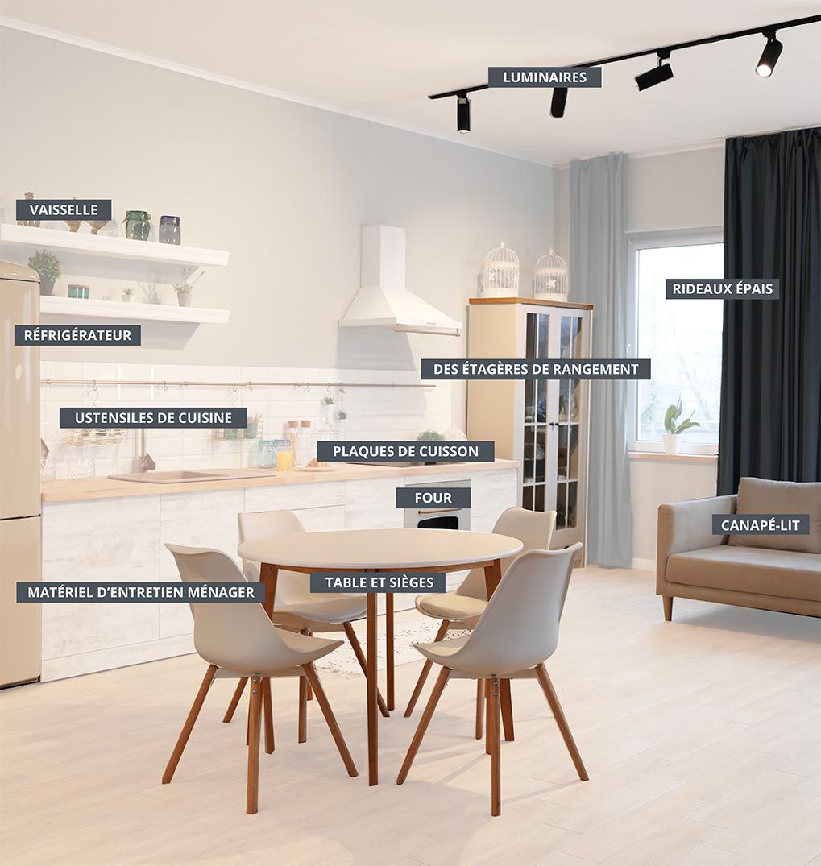 11 équipements obliagtoires pour la location meublée
