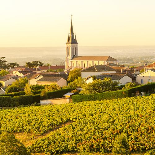 Les villages du Rhône