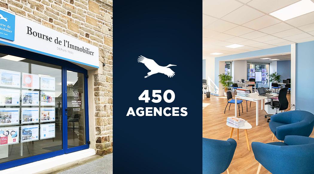 >Et de 450 agences !