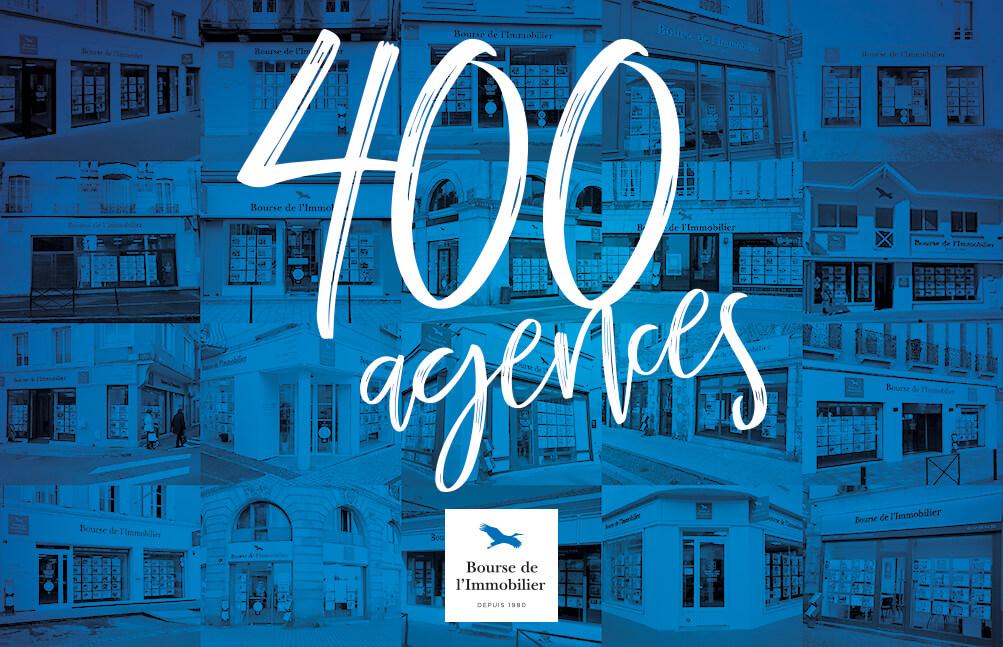 >400 agences... nous y sommes !