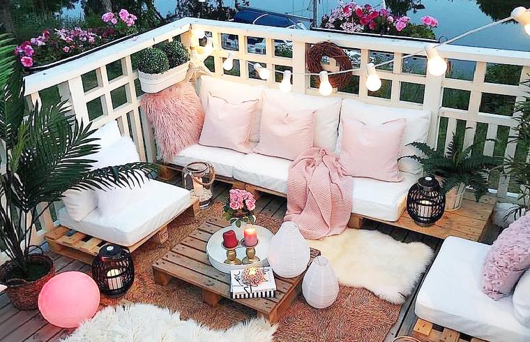 >Une terrasse guinguette pour cet été